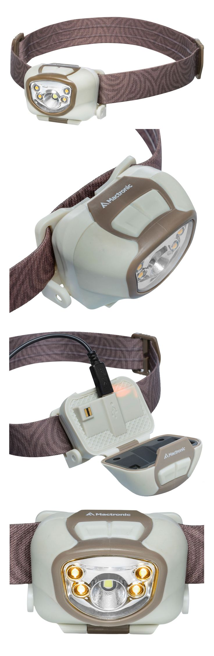 Enhanced battery life and a blistering output combine to make the rechargeable Nippo 3.3 RC the series flagship headlamp. A Cree 330 lm LED provides a powerful spot beam, blazing your trail for 84 meters. Switch on the 4 Nichia warm light LEDS for a soft floodlight effect that creates a warm glow for 8 meters and up for 8 hours. Insert the USB cable directly into the lamp's head for a quick recharge without an additional battery cage or cable.  mactronic.pl