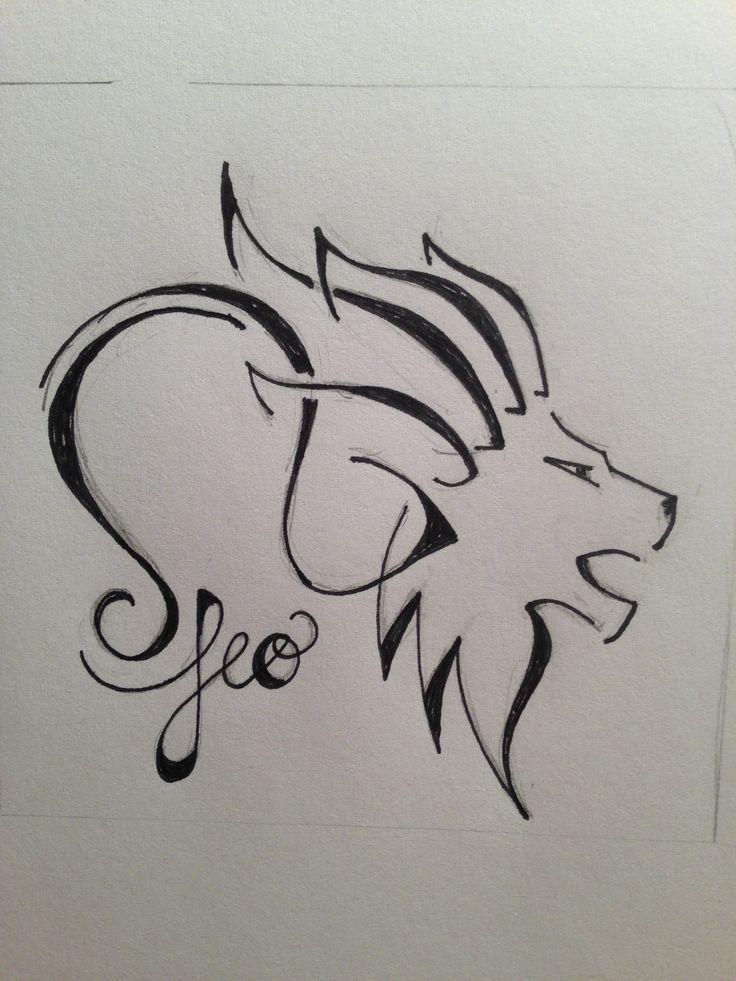Leo for zodiac tattoo custom tattoo designs. ginaleecincotta@gmail.com
