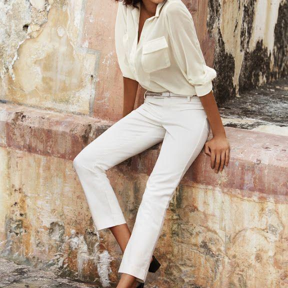 White outfitAnais Wrong, Fashion, Style, White Shirts, White Outfit, White Pants, White Blouses, White Jeans, Cream
