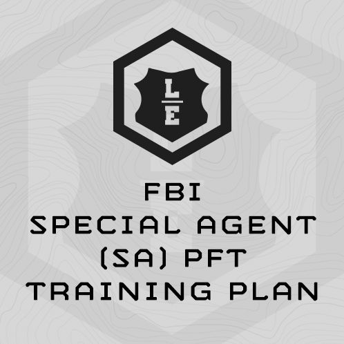 This 6-week training program designed specifically improve scores on the FBI Special Agent PFT.