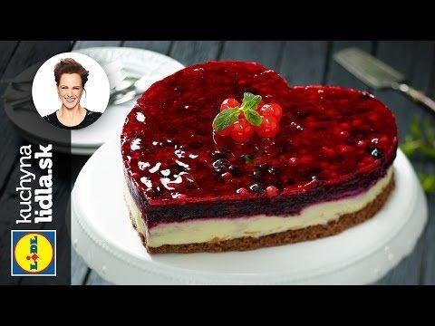 Tvarohovo-čokoládová torta s ovocím - Adriana Poláková - recepty kuchynalidla.sk - YouTube