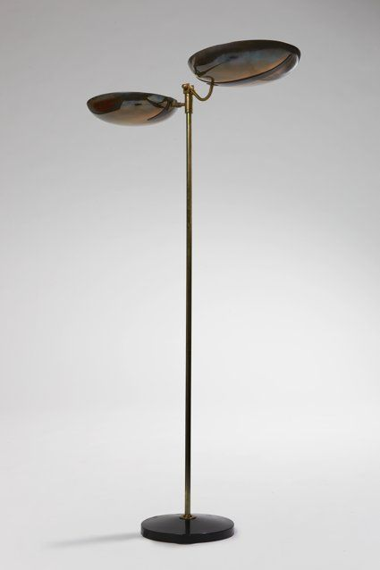 Janette Laverrière; Enameled Metal And Brass