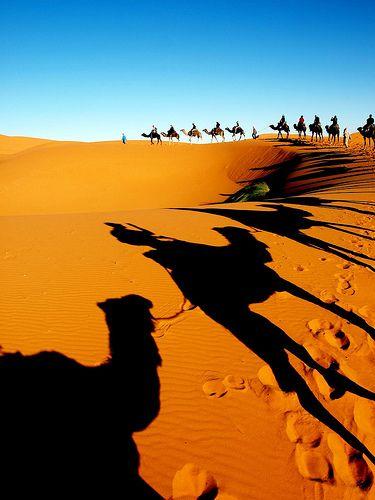 Erg Chebbi in southeastern Morocco |  © Carlo Tancredi {…