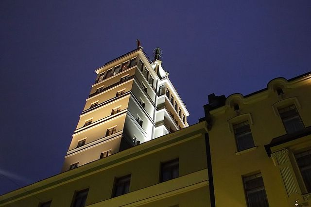 Hotel Torni Tower in Helsinki by Visit Finland, via Flickr
