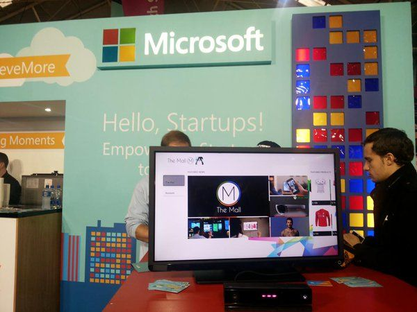 #mall4Xbox at #Microsoft booth in Dublin Web Summit