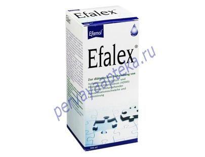 Эфалекс цена, инструкция. Эфалекс купить в Москве. Efalex – это дополняющая друг-друга сбалансированная диета, подходит для диетического лечения СДВГ (Синдром дефицита внимания и гиперактивности ) и сопутствующее отсутствие концентрации и обучения расстройства. Проявляется такими симптомами, как трудности концентрации внимания, гиперактивность и плохо управляемая импульсивность. Наши контакты: Телефон в Москве +7 926 928 59 99 WhatsApp +7 926 928 59 99 Электронная почта pervayaapteka@mail.ru