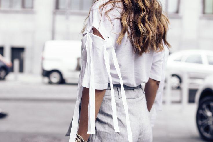 #white #grey #street #summer #look #hm #promod #rayban