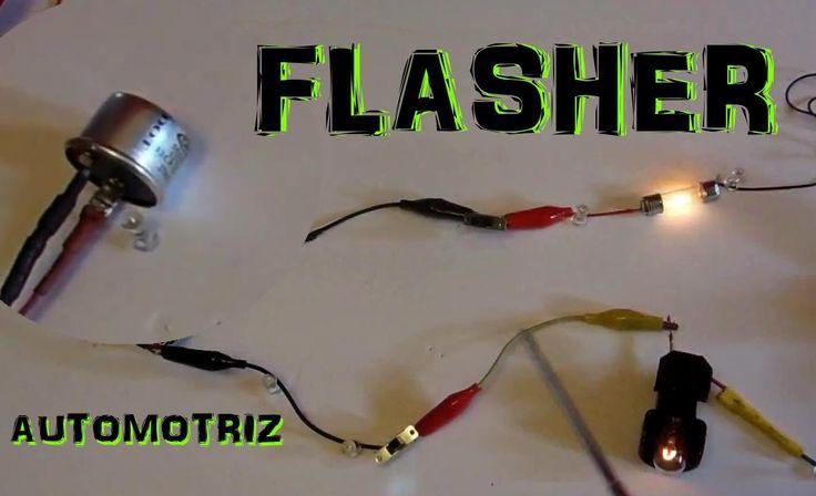 Circuito Electrico Basico : El flasher y circuito electrico basico de direccionales