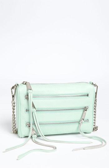 Love the mint cross body  Rebecca Minkoff '5 Zip - Mini' Crossbody Bag   Nordstrom