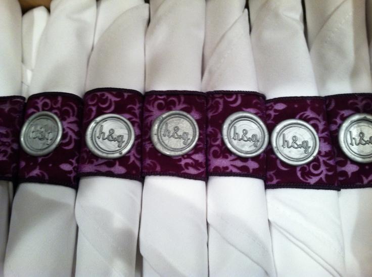 37 best Napkin rings images on Pinterest Wedding napkins