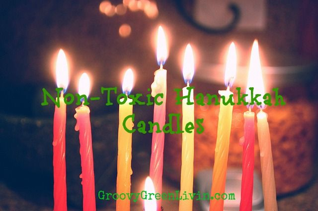 Non-Toxic Hanukkah Candle Suggestions -Momo