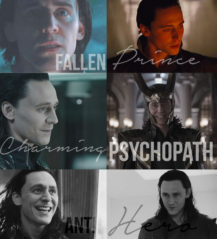 Tom Hiddleston's description of Loki in each film<<antihero means a bad guy that turned good for the sake of saving the world once right?