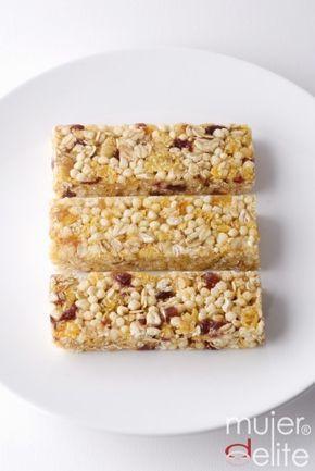 Barritas de cereales ¡un sano placer!