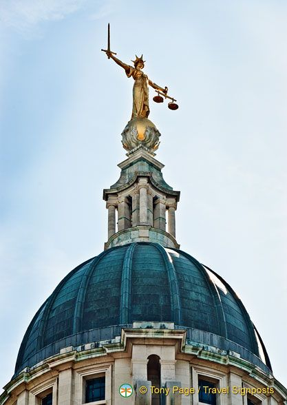 Get a feel of how the British justice system operates at The Old Bailey – London's Central Criminal Court.