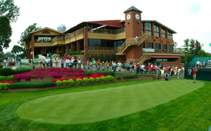 The PGA World Golf Championships travel to Akron each year for the Bridgestone Invitational at Firestone Country Club.
