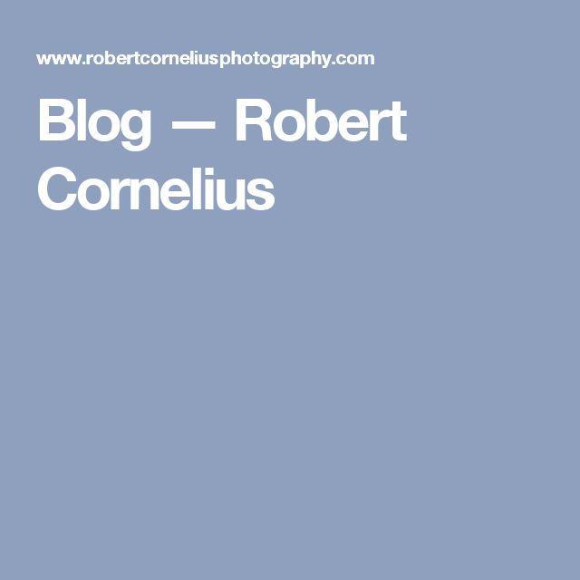 Blog — Robert Cornelius