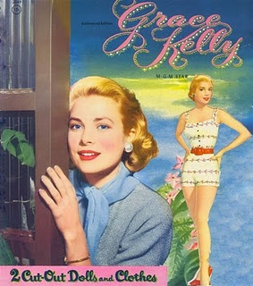 Grace Kelly paper dolls...I loved paper dolls as a kid..and I love Grace..so how perfect!