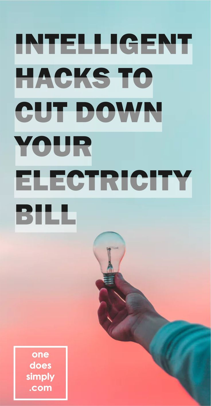 Reduce your electricity bills dramatically with these simple tricks. Ridiculously easy ways to cut down your electricity bills. #savemoney #energy #electricity #bill #hacks #getoutofdebt