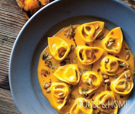 Pumpkin Tortelloni Recipe - Feed Your Soul Too