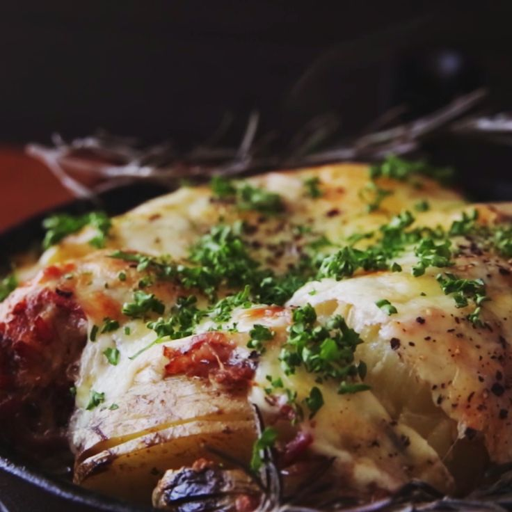 How to make Hasselback Potatoes.