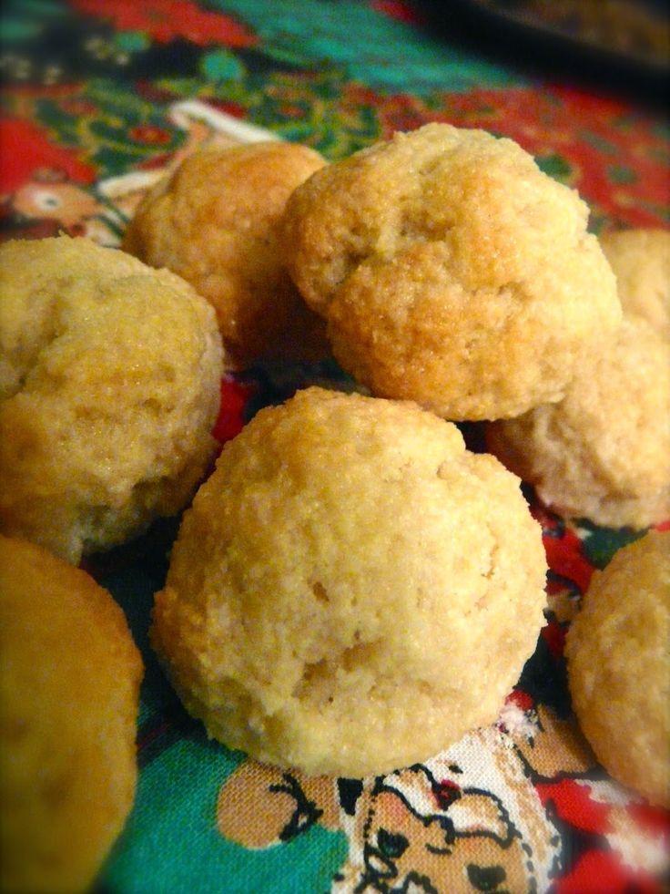 Profumo di broccoli: Biscottini alla farina di mandorle