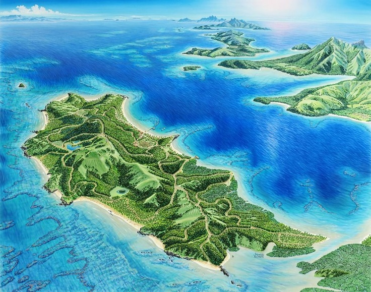 364 best Favorite Places \ Spaces images on Pinterest Fiji beach - new world map fiji country
