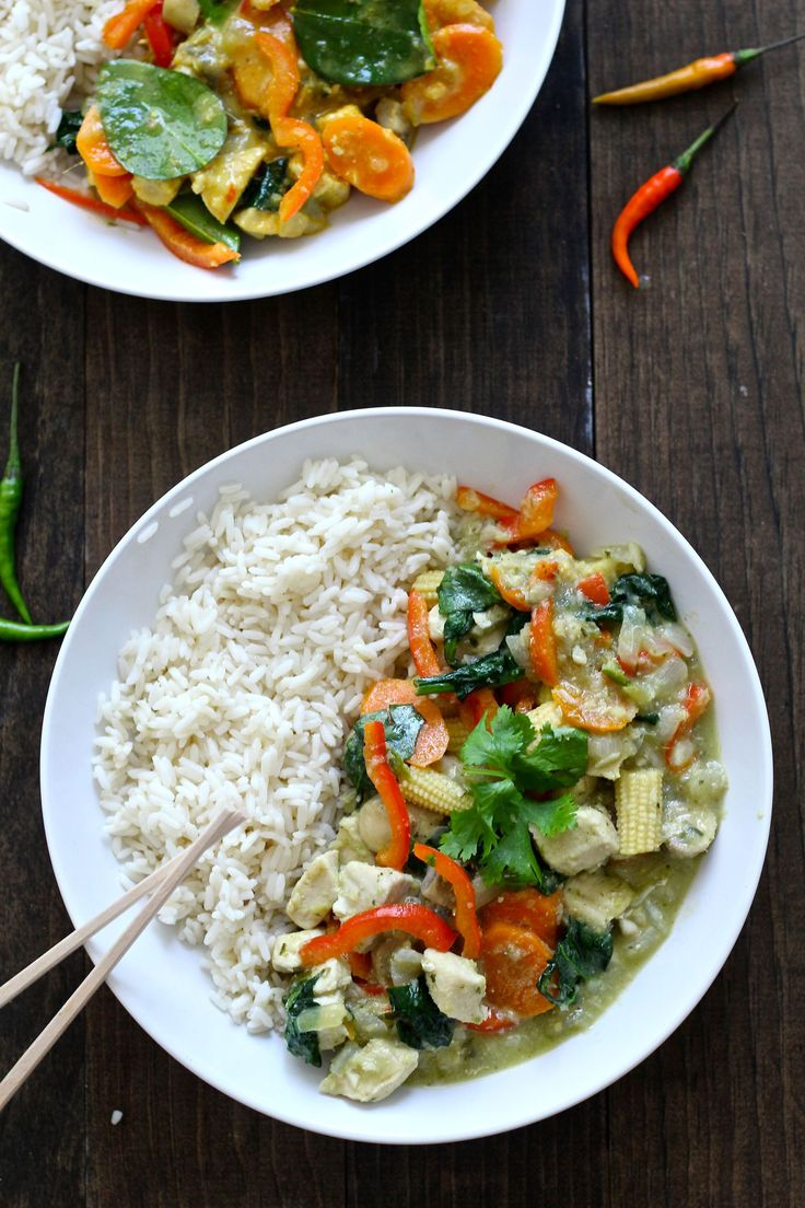 Better-Than-Takeout, Authentic Thai Green Curry