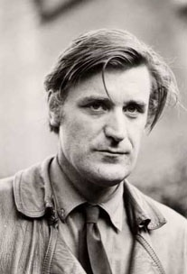 """Poet Ted Hughes, husband of Sylvia Plath    """"If the moon smiled, she would resemble you.  You leave the same impression.  Of something beautiful, but annihilating.""""    Sylvia Plath"""