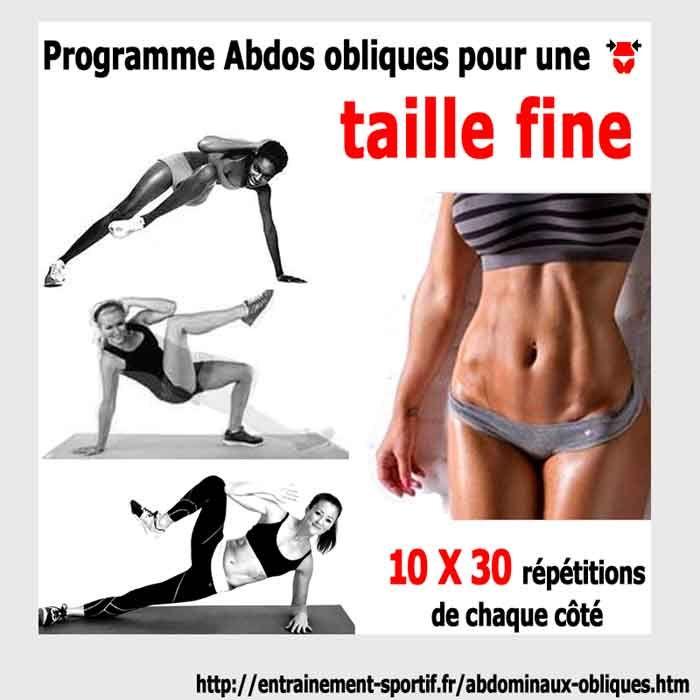 Vous voulez une taille fine et un ventre plat ? Suivez nos 8 exercices gratuits pour tonifier les abdominaux obliques