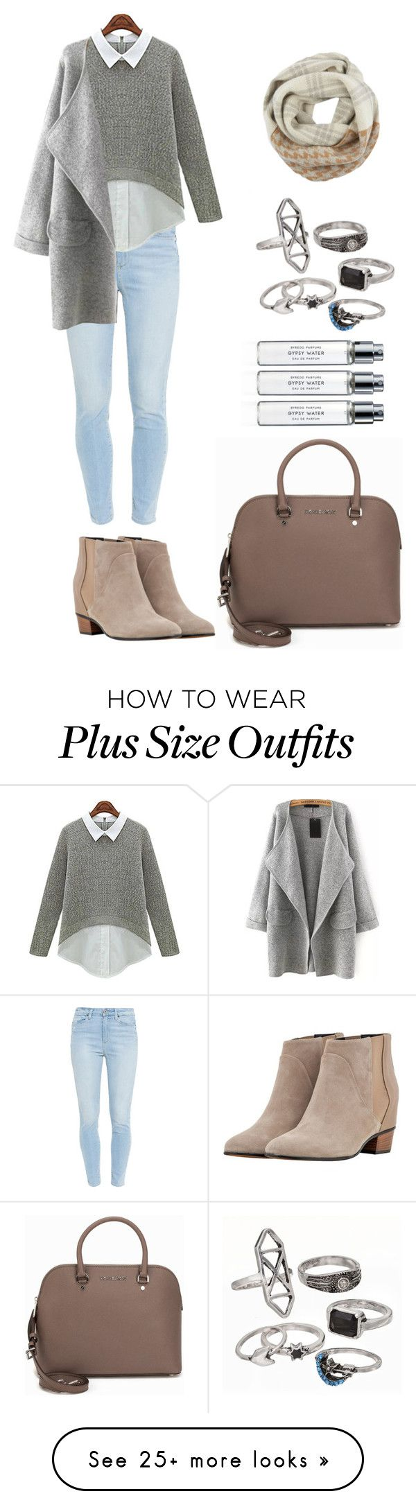 """""""Cold"""" by honeyat on Polyvore featuring Byredo, Mudd, MICHAEL Michael Kors, Paige Denim, Augusta and Woolrich"""
