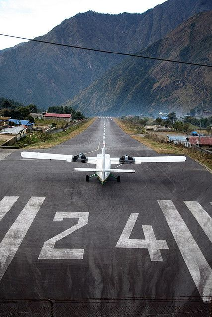 Lukla Airport, Gateway to Everest Base Camp - I will be landing here in December