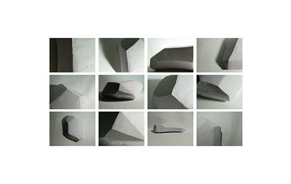 Morfologia 2 Longinotti - FADU UBA.  Color Material  Yeso - Cemento