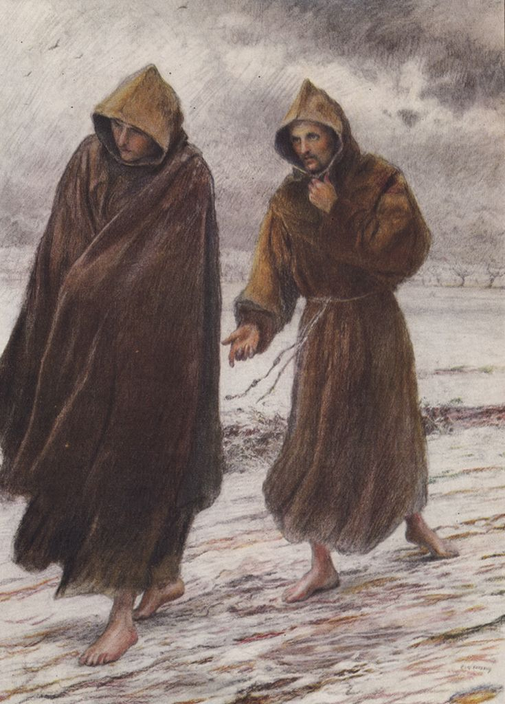 St Francis sets forth to Friar Leo.jpg (800×1114)