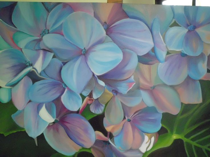 Hydrangea - completed March 17 2017
