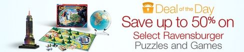 Up to 63% Off Ravensburger Puzzles & Games **Today Only** - http://www.swaggrabber.com/?p=283365