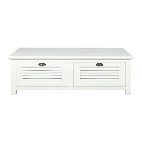 Vermont 2 Drawer Coffee Table | Freedom Furniture and Homewares