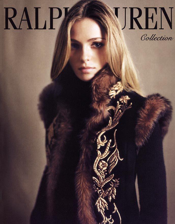 Valentina Zelyaeva for Ralph Lauren