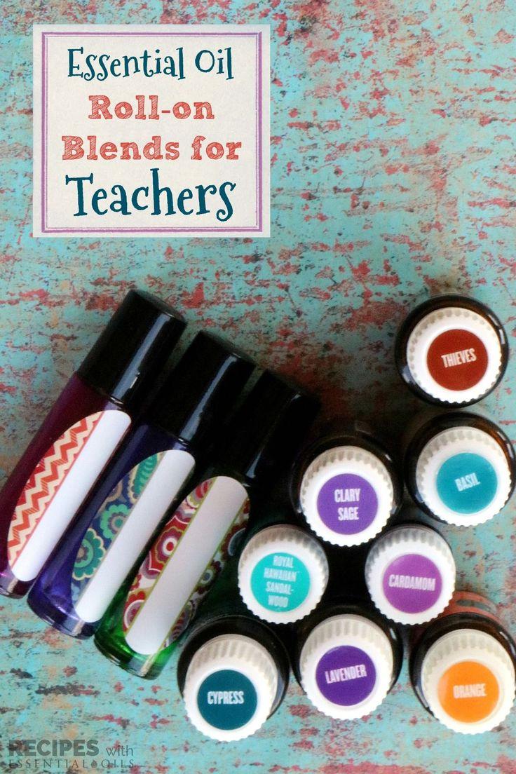 Essential Oil Roller Blends For Teachers Essential Oils
