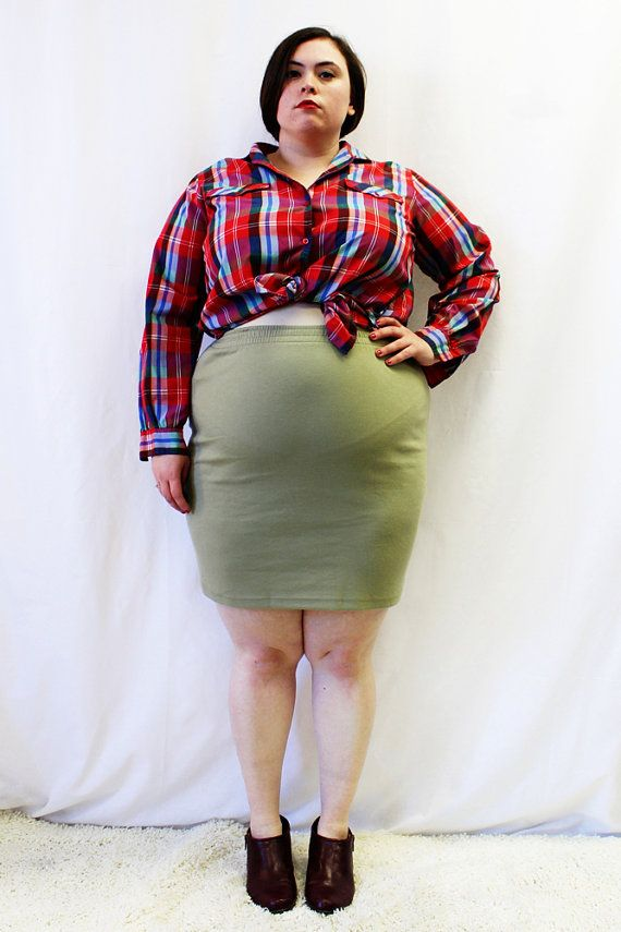 how to make a plus size skirt