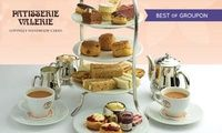 Traditional or Sparkling Afternoon Tea for Two at Patisserie Valerie, Nationwide (Up to 24% Off)