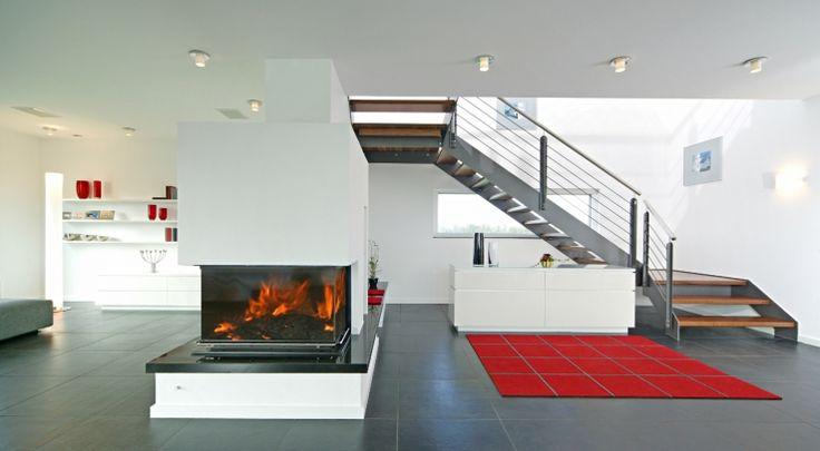 sonnenenergiehaus style von fertighaus weiss kamin. Black Bedroom Furniture Sets. Home Design Ideas