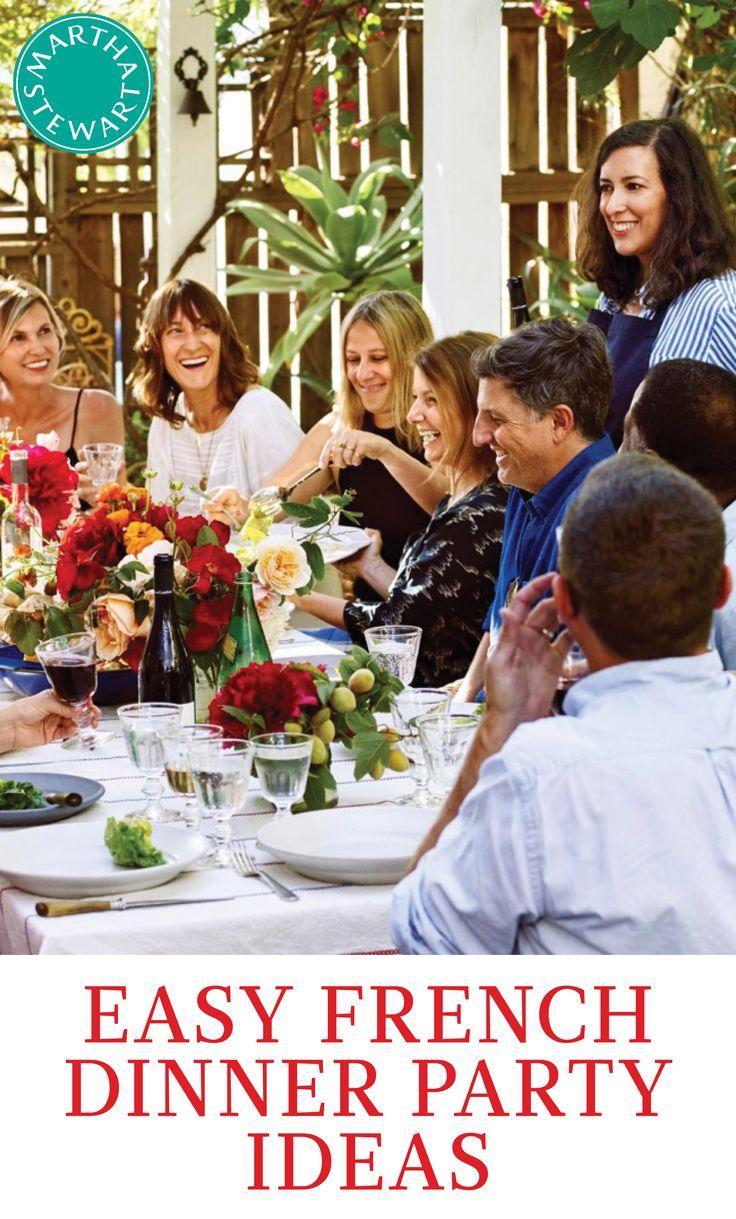 bastille day dinner party