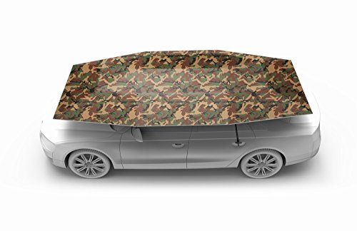 Carports - Car Tent Semi Automatic Folded Portable Automobile Protection Umbrella Sunproof Car Canopy Cover * Click image to review more details. (This is an Amazon affiliate link)