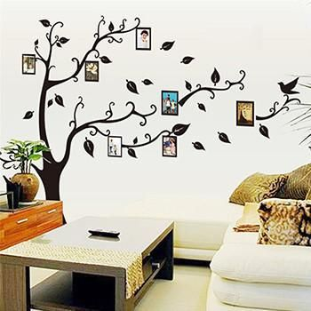 A tasteful and beautiful NEW WAY TO DECORATE your home. Say good bye to the old boring frame on the wall! Add meaning to family pictures withthis Family Tree!Be Your Own Decorator - No More Hiring Someone to Do It for You! Custom Decora...