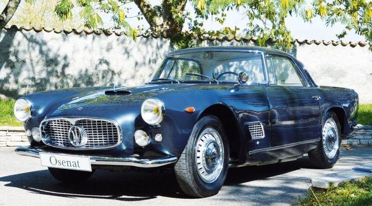 1960 MASERATI 3500 GT TOURING Châssis n° AM101*1018* Carte grise française Superbe réussite de la carrosserie Touring, une de plus dans une histoire riche en chef-d'oeuvres, la 3500 GT offre au regard… - Osenat - 08/11/2015