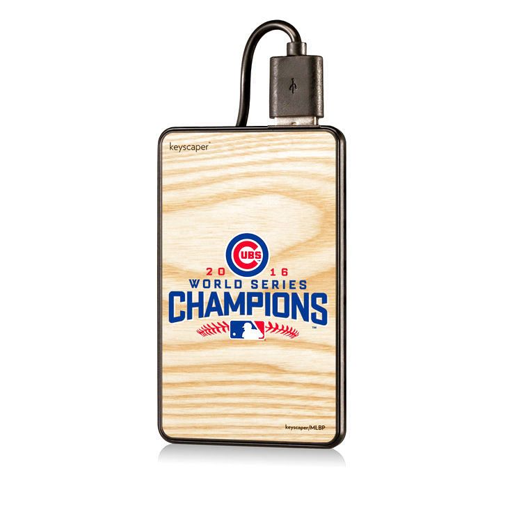 Chicago Cubs 2016 World Series Champions 2200 mAh Portable USB Charger - $23.99