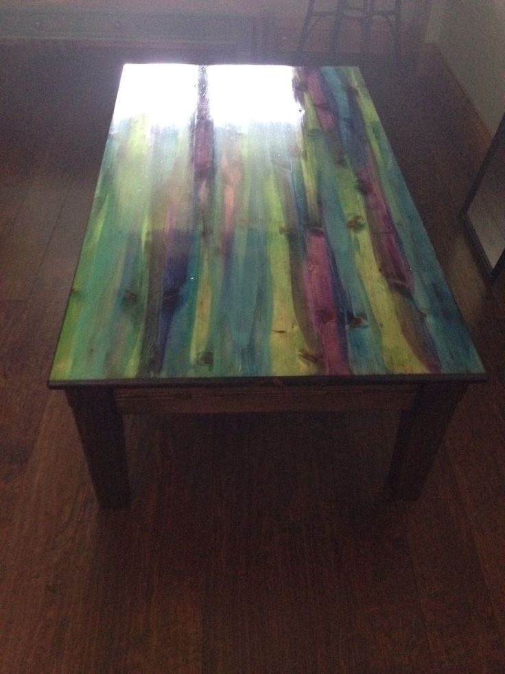 from dump to divine with unicorn spit, painted furniture