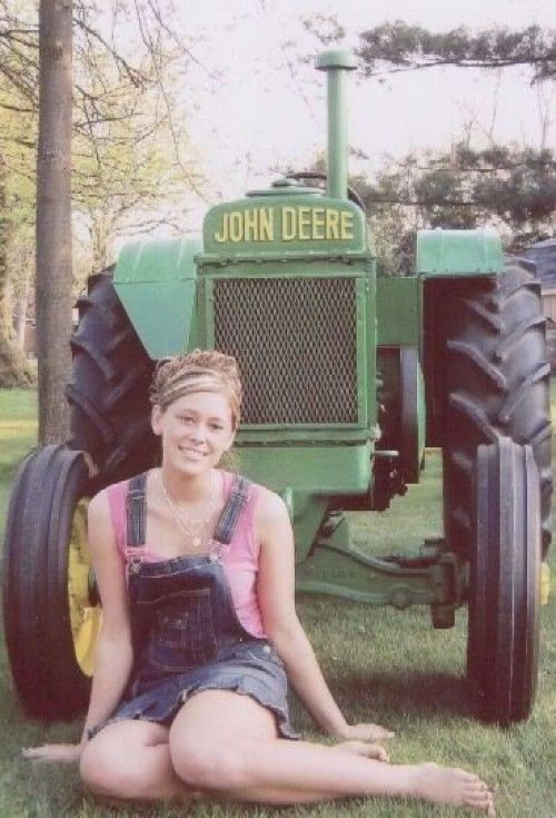 99 Best Girls With Tractors Images On Pinterest -1392