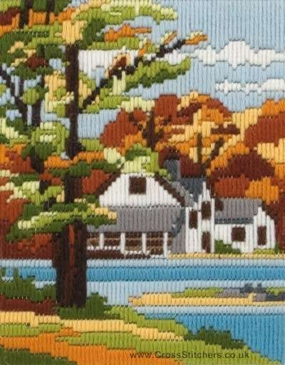Autumn Days Long Stitch Kit by Anchor