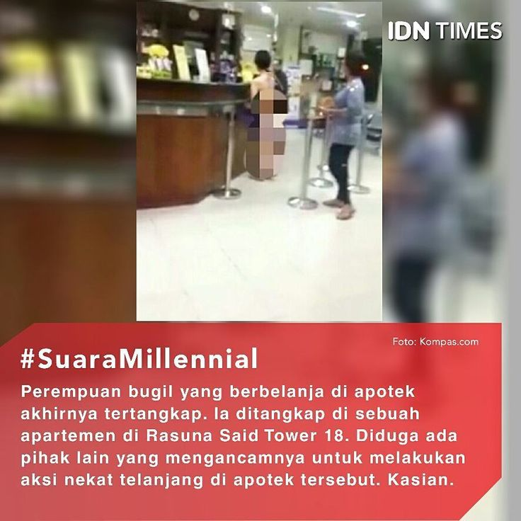 Beberapa waktu lalu, beredar sebuah video yang menunjukan seorang #wanita setengah telanjang berbelanja di apotek. . #Video ini pun langsung viral dan menjadi bahan pembicaraan banyak pihak. Pasalnya, wanita tersebut dengan santainya hanya mengenakan celana dalam saat berbelanja. Setelah menjadi perbincangan hangat, perempuan tersebut pun akhirnya ditangkap polisi. . Kasat Reskrim Polres Metro Jakarta Barat, AKBP Andi Adnan membenarkan adanya penangkapan terhadap perempuan yang berinisial VM…